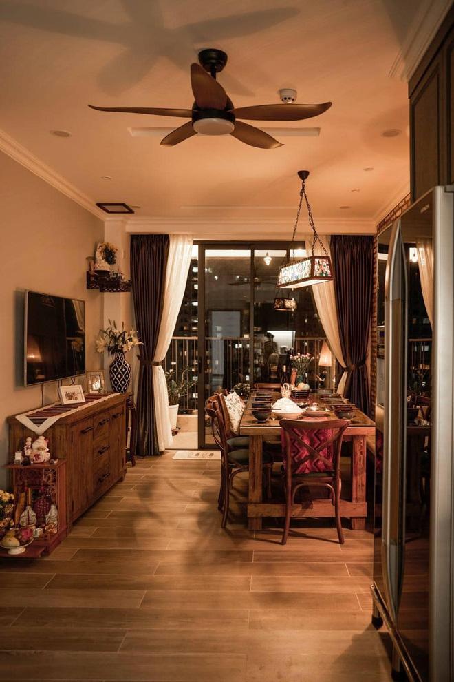 Không gian lãng mạn và đầm ấm của ngôi nhà