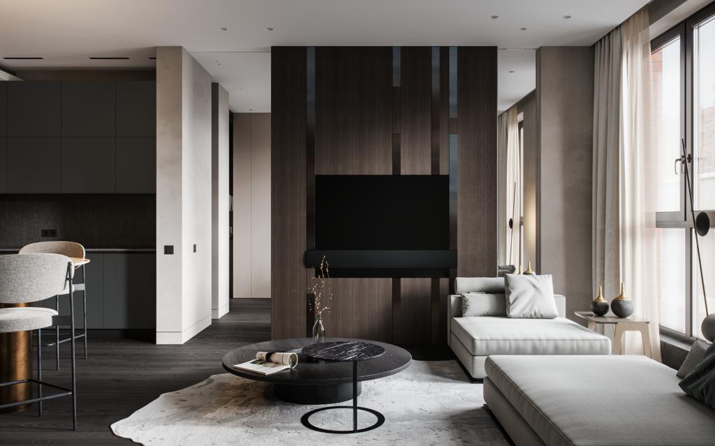 Mẫu bàn độc đáo với sự kết hợp nội thất ấn tượng