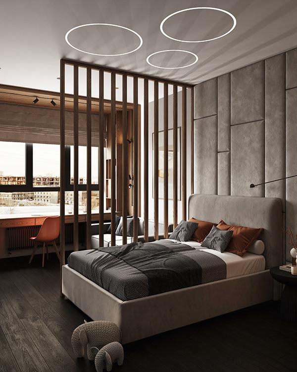 Biệt thự Phan Thiết sử dụng tone màu xám theo xu hướng 2021
