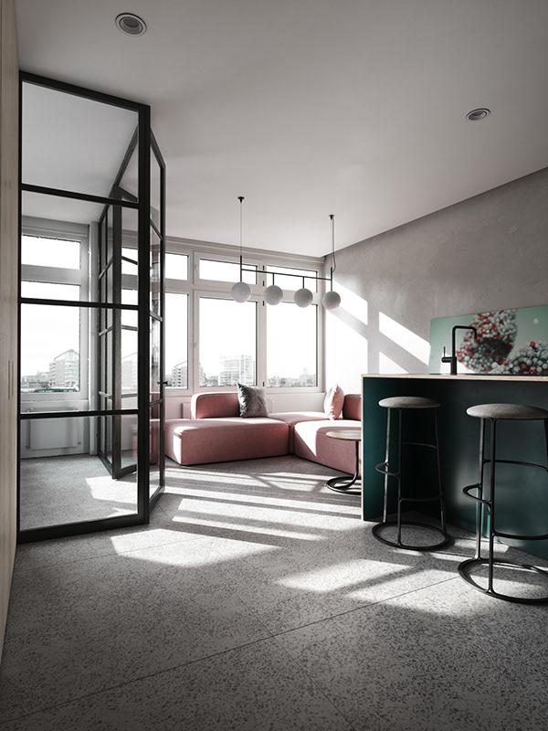 Dự án thiết kế căn hộ cao cấp nhà chị Hồng