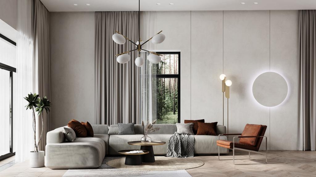 Mẫu thiết kế căn hộ đẹp của anh Đạt
