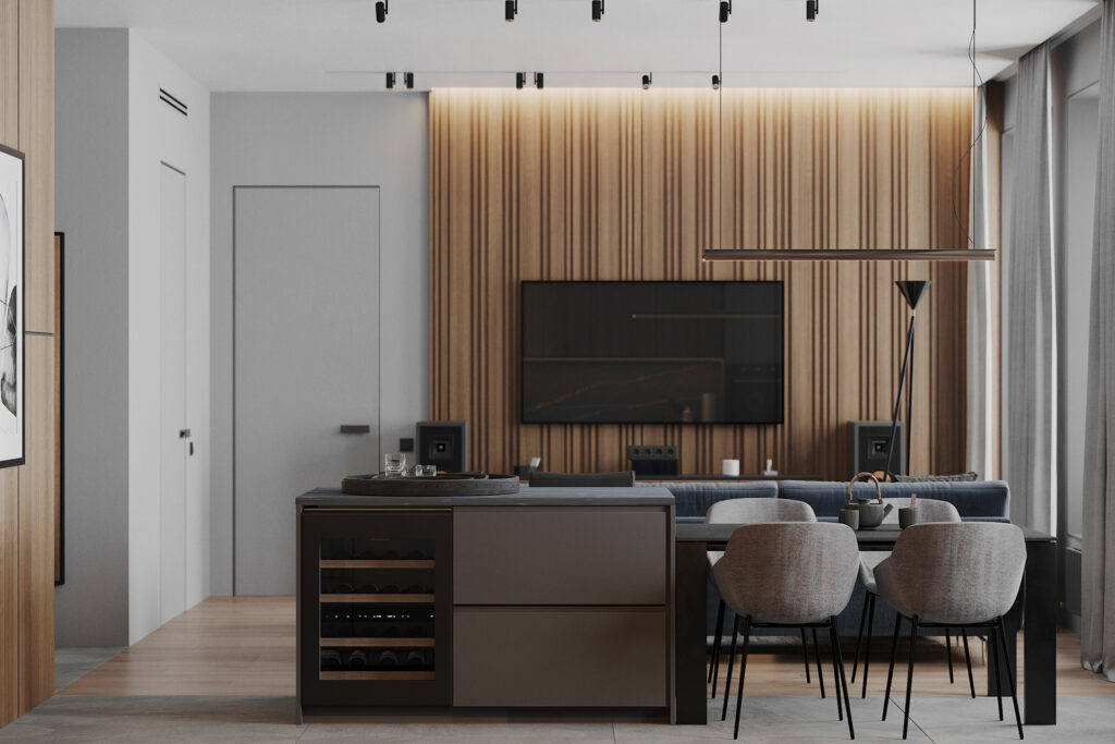 Mẫu thiết kế nội thất biệt thự anh Dũng năm 2020