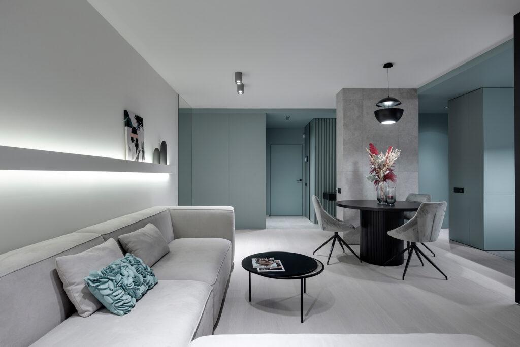 Thiết kế thi công chung cư chú trọng công năng nội thất và sự kết nối không gian