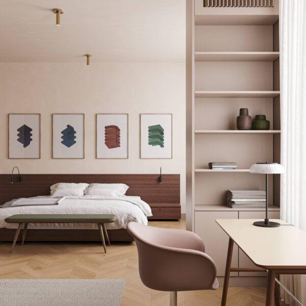 Bài trí và sắp xếp nội thất phòng ngủ sẽ tác động không nhỏ đến sức khỏe của gia chủ