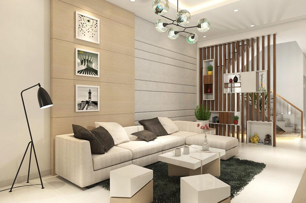Các căn hộ được thiết kế với tone màu trung tính