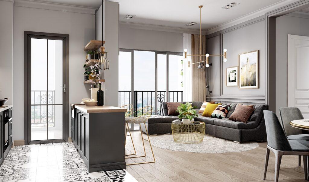 Các mẫu thiết kế nội thất chung cư hiện đại sang trọng, đẳng cấp