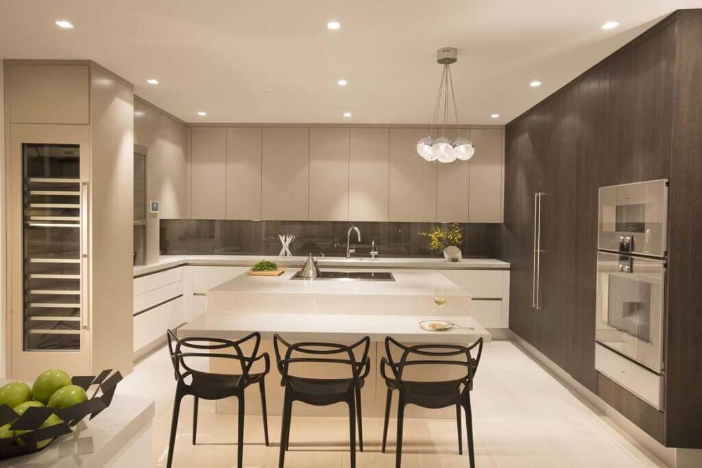 Chú ý về chất liệu và cách kết hợp màu sắc tổng thể trong các căn phòng của biệt thự