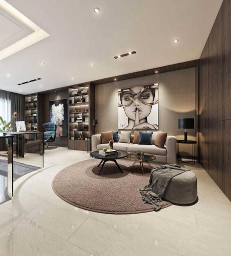 Lựa chọn các loại thảm đơn giản, nhẹ nhàng, tinh tế phù hợp với màu chủ đạo của cả căn hộ sẽ giúp thiết kế nội thất của bạn sang trọng, cao cấp và hiện đại hơn