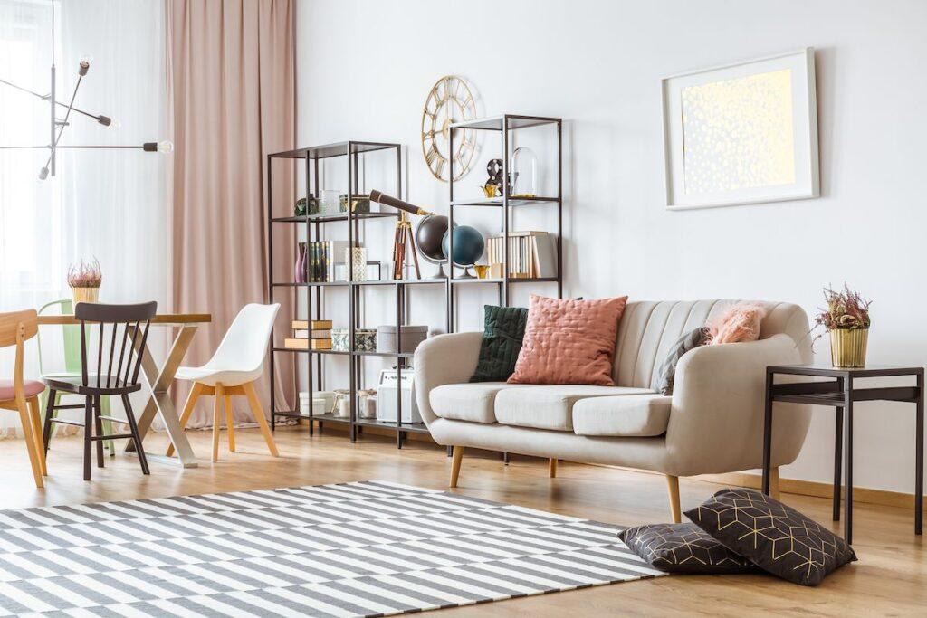 Nguyên tắc kết hợp màu sắc 60-30-10 trong thiết kế nội thất