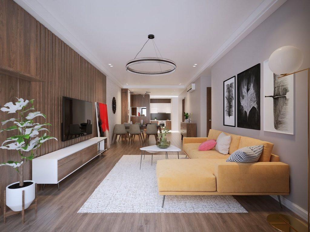 Những lưu ý cần biết khi thiết kế thi công nội thất chung cư đẹp và hiện đại