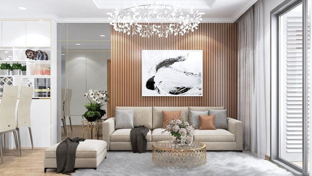 Thêm một vài chi tiết cá nhân trong các thiết kế nội thất căn hộ hiện đại sang trọng
