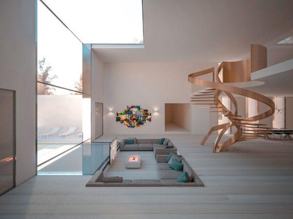 Phong cách tối giản hướng tới sự đơn giản hết mức trong từng thiết kế