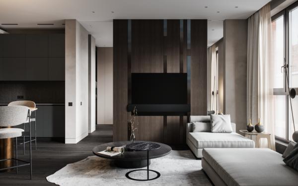 Thiết kế chung cư phong cách hiện đại rất được yêu thích