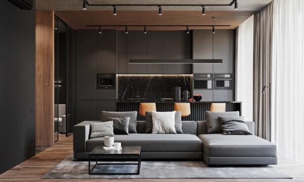 Phong cách thiết kế chung cư hiện đại giúp tối ưu diện tích