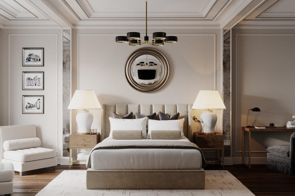 Thiết kế nội thất chung cư theo phong cách tân cổ điển thể hiện nét sang trọng, quý phái