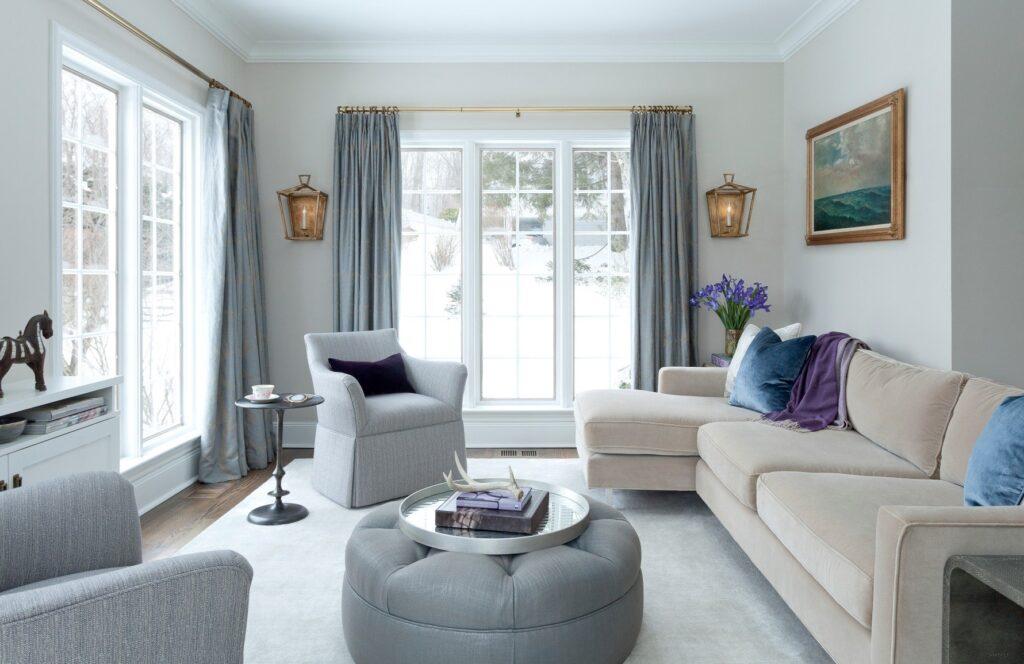 Thiết kế phòng khách theo phong cách đơn giản