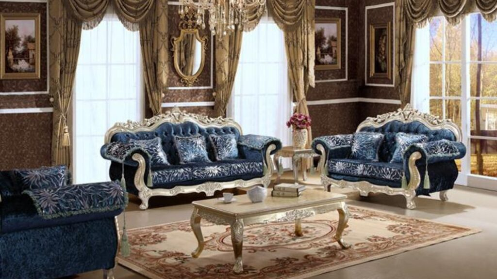 Trang trí phòng khách vừa cổ điển nhưng vẫn mang hơi hướng hiện đại
