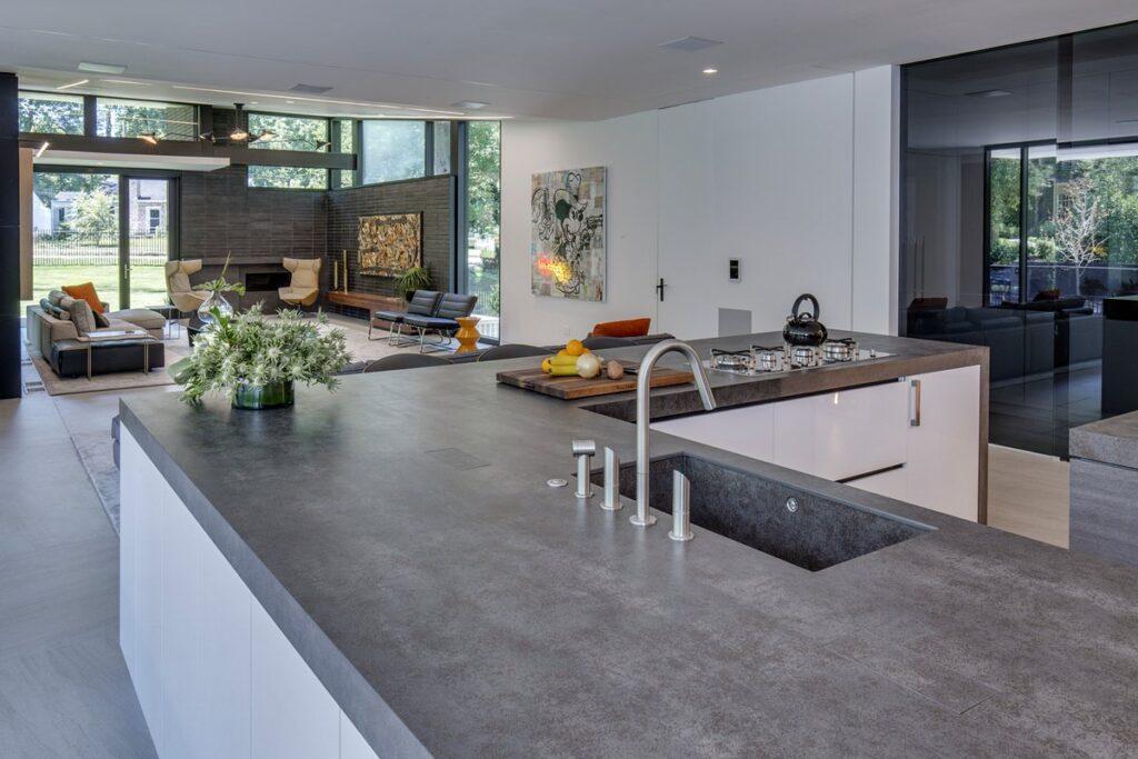 Xu hướng thiết kế nội thất căn hộ, biệt thự với đá tự nhiên 2021