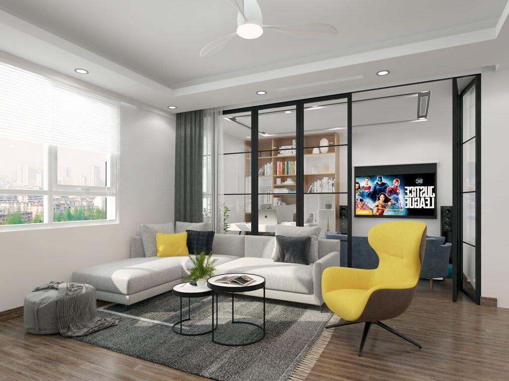 Xu hướng thiết kế nội thất căn hộ đẹp, hiện đại, sang trọng và cao cấp trong năm 2021