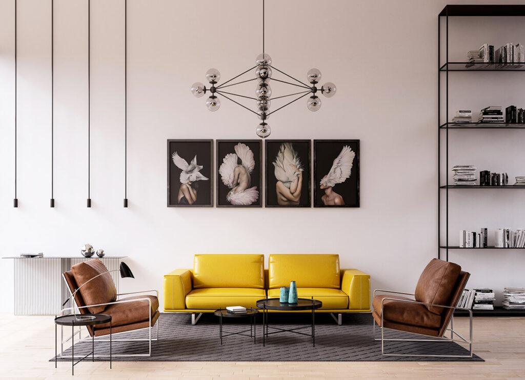 Các quy tắc phối màu cơ bản trong thiết kế nội thất
