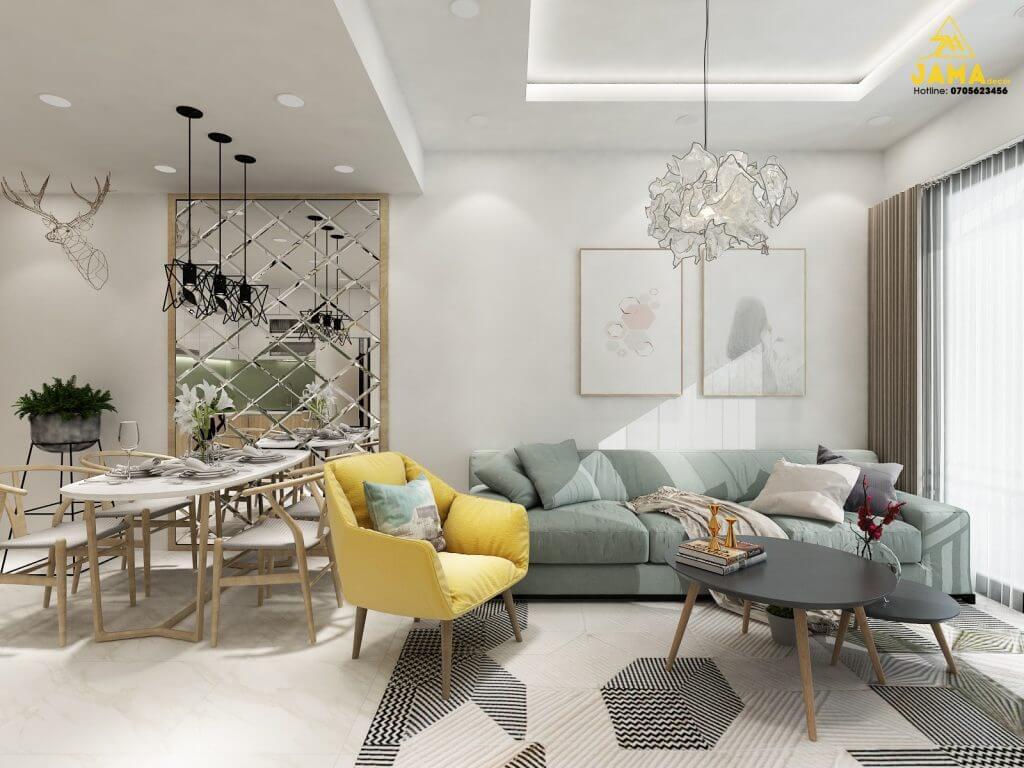 Các lỗi phong thủy cần tránh khi thiết kế thi công nội thất phòng khách căn hộ, chung cư, biệt thự