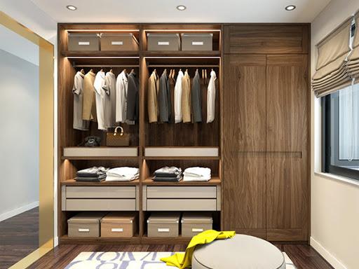 Nhờ chất liệu gỗ tự nhiên mang đến sự thân thiện với môi trường và gần gũi với thiên nhiên, giúp bạn thư giãn sau một ngày làm việc trong phòng ngủ ấm cúng.