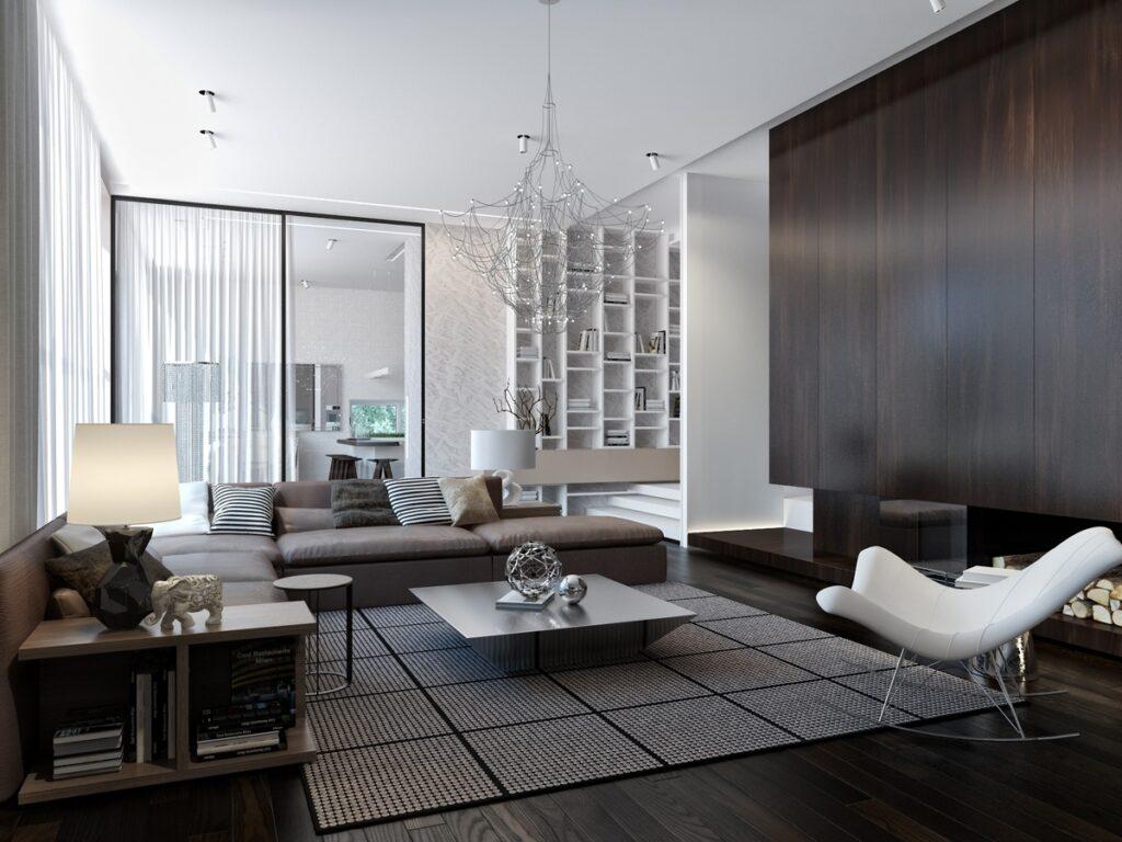 Xu hướng thiết kế nội thất phòng khách theo phong thủy 2021 và các lỗi cần tránh