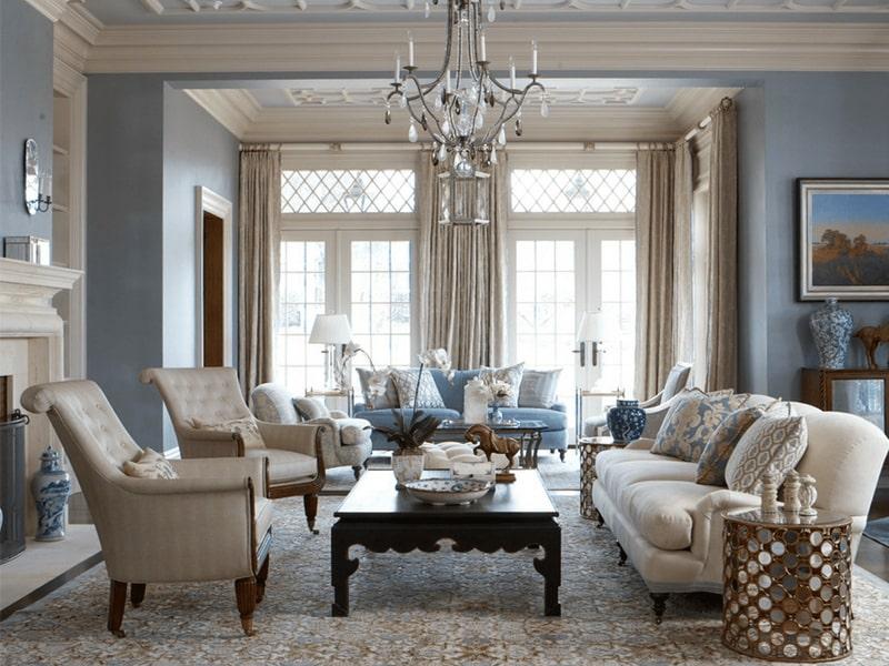 Phong cách nội thất cổ điển với các thiết kế tinh xảo, hoàn hảo