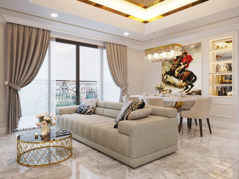 Phong cách tân cổ điển được ứng dụng cho nhiều mô hình nhà ở