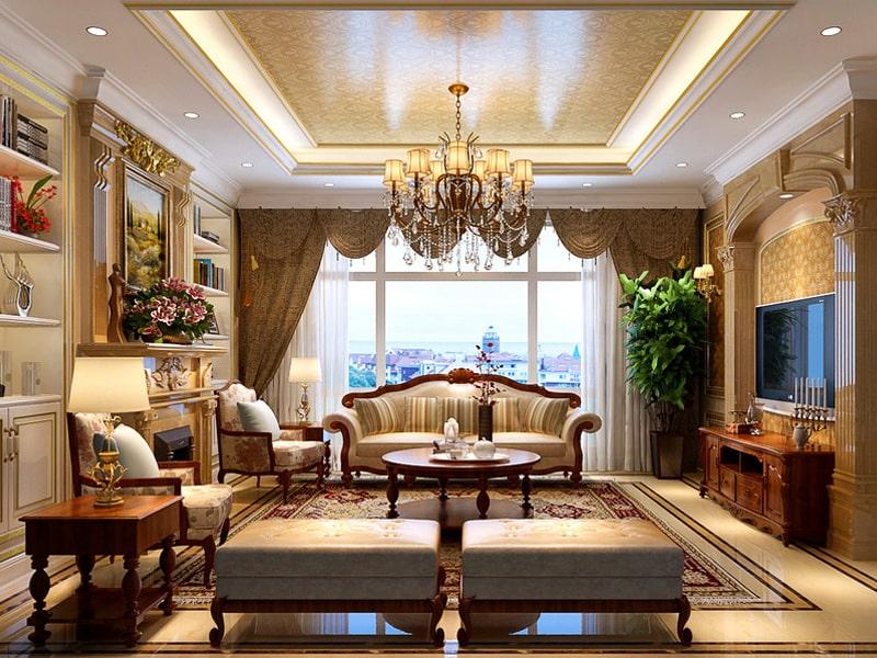 Phong cách thiết kế cổ điển là gì?Phong cách thiết kế cổ điển được ưa chuộng bởi tầng lớp thượng lưu. Ảnh sưu tầm
