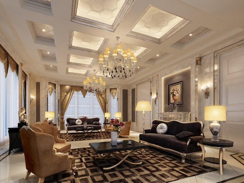 Phong cách thiết kế cổ điển là gì? Nhà phong cách cổ điển toát lên vẻ thịnh vượng, sung túc. Ảnh sưu tầm