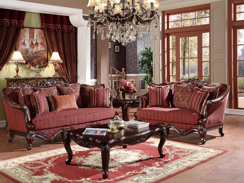 Phong cách thiết kế cổ điển là gì?Phong cách cổ điển Vintage với những tấm thảm hoa văn cổ điển. Ảnh sưu tầm