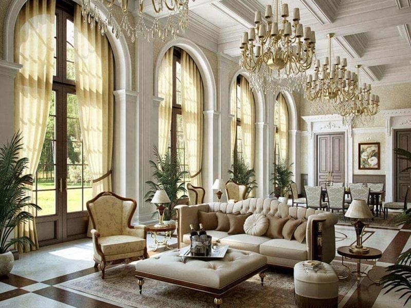 Phong cách thiết kế cổ điển là gì? Phong cách thiết kế cổ điển ra đời vào thế kỷ XVII. Ảnh sưu tầm