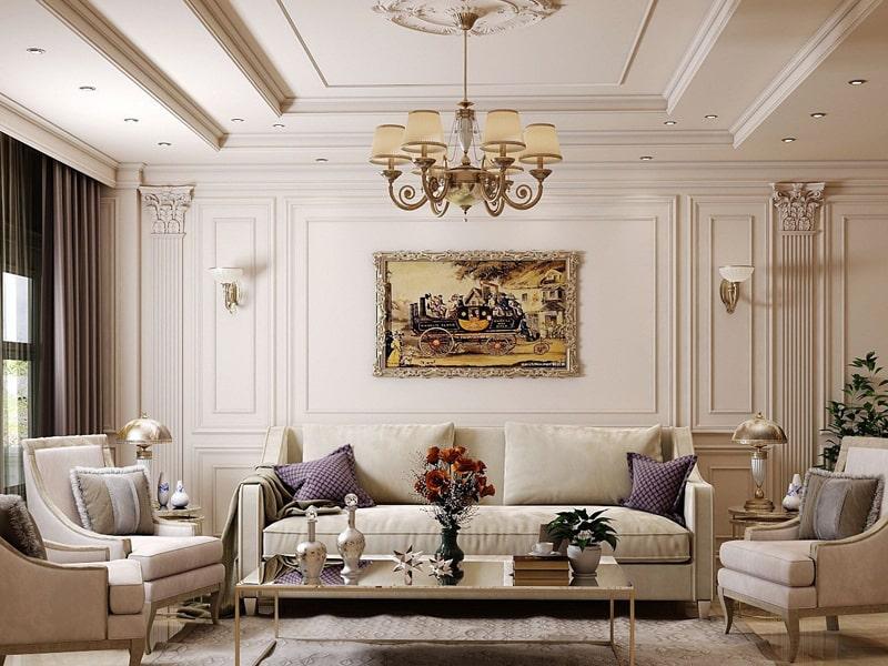 Phong cách thiết kế cổ điển là gì? Màu sắc hài hòa là ưu điểm của phong cách thiết kế cổ điển. Ảnh sưu tầm