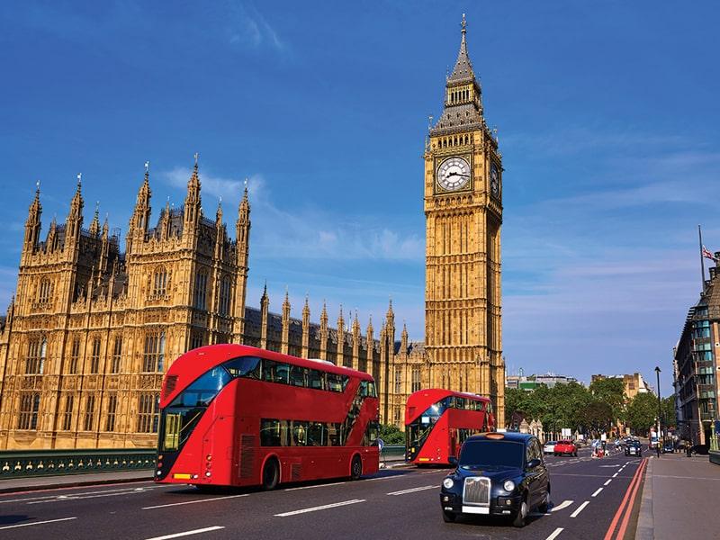 Tháp Big Ben - công trình mang đậm phong cách thiết kế Gothic