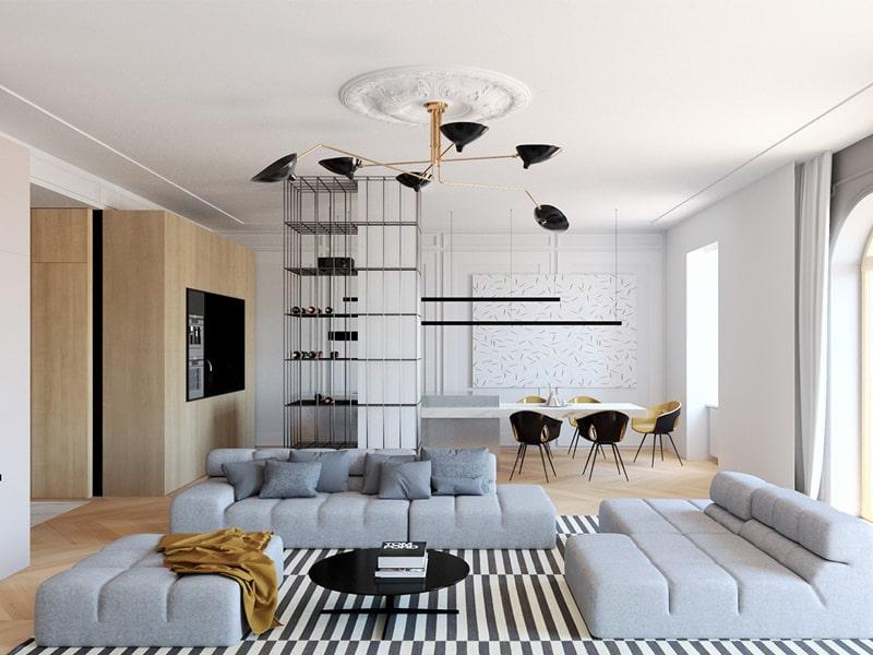 Phong cách thiết kế hiện đại và điều gì khiến nó trở thành trào lưu?