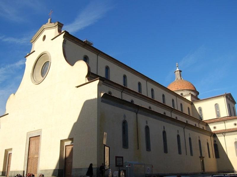 Nhà thờ Santo Spirito là công trình nổi tiếng của Brunelleschi
