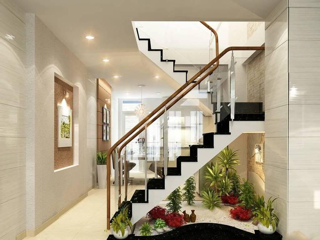 Vị trí đặt cầu thang giúp phong thủy ngôi nhà tốt hơn