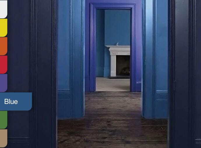 Các tone màu xanh phù hợp với xu hướng thiết kế nội thất 2021