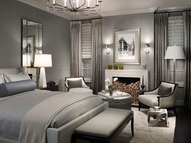 Hầu hết các vật trong phòng theo nguyên tắc Achromantic đều sử dụng màu trắng và xám. Ảnh sưu tầm.