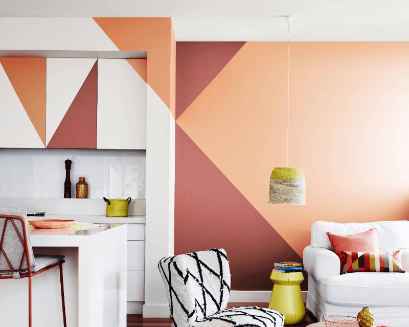 Hạn chế sử dụng các tone màu nóng như cam, đỏ trong căn hộ của gia chủ mệnh Kim