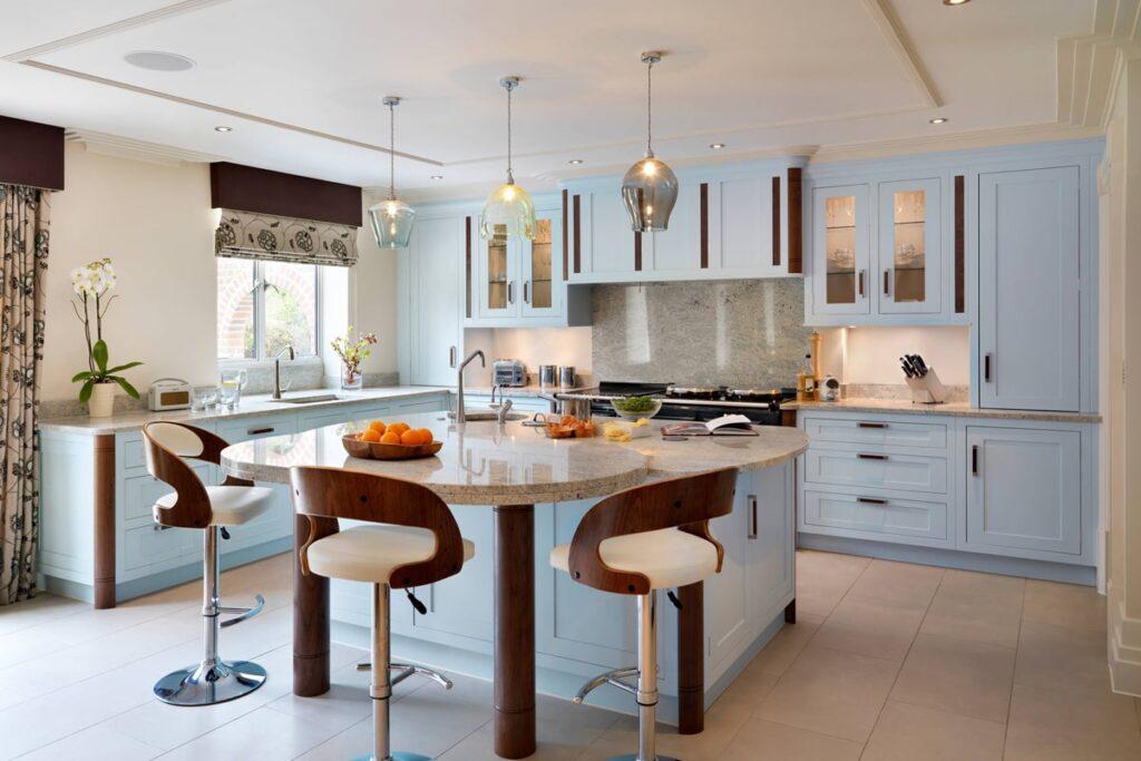 Phòng bếp theo phong cách Art Deco thanh lịch (Ảnh sưu tầm)