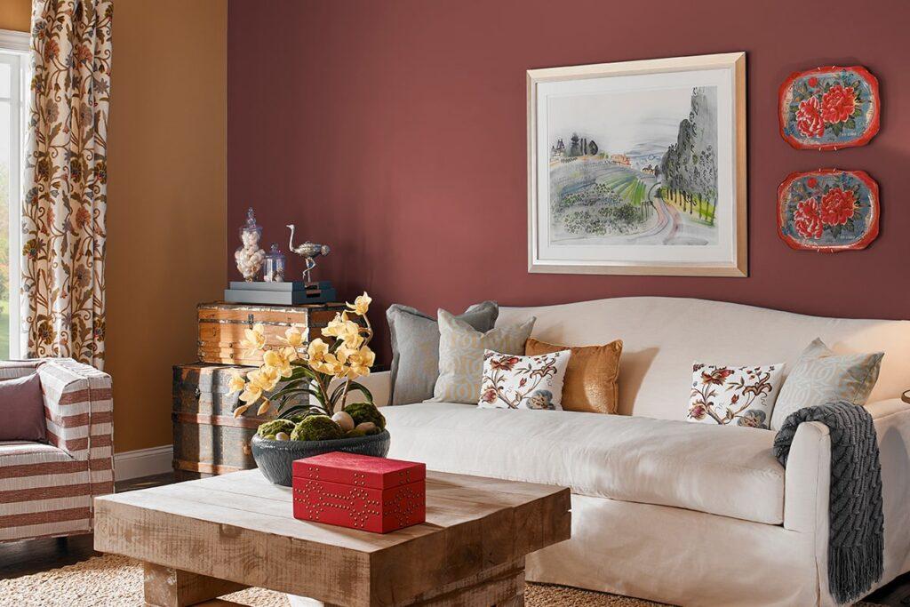 Căn phòng theo phong cách Vintage được bài trí đầy ấn tượng. (Ảnh sưu tầm)