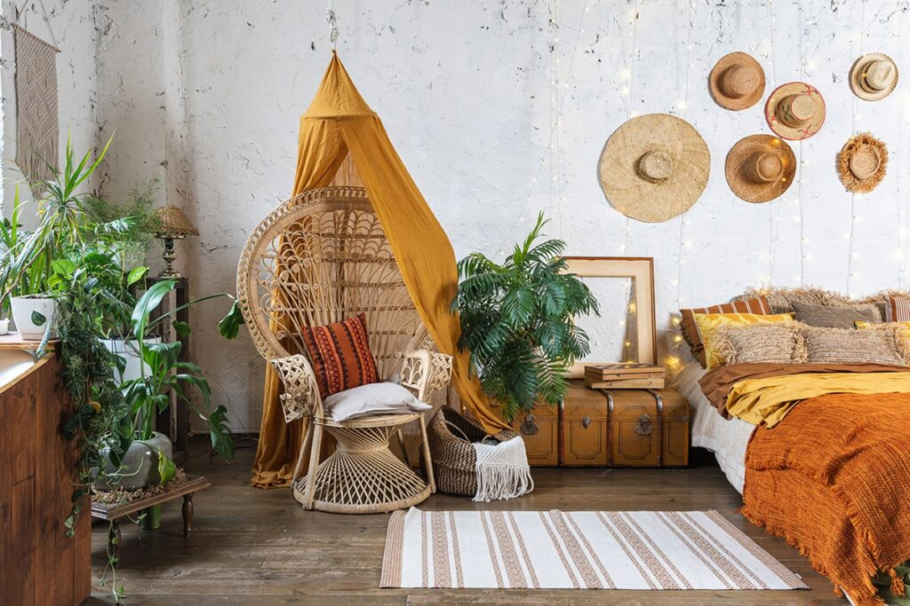 Những món đồ handmade được ưa chuộng trong phong cách thiết kế Bohemian. (Ảnh sưu tầm)
