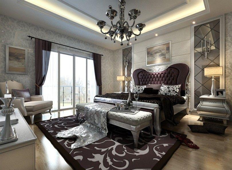 Phong cách thiết kế Châu Âu cho phòng ngủ. Ảnh sưu tầm.