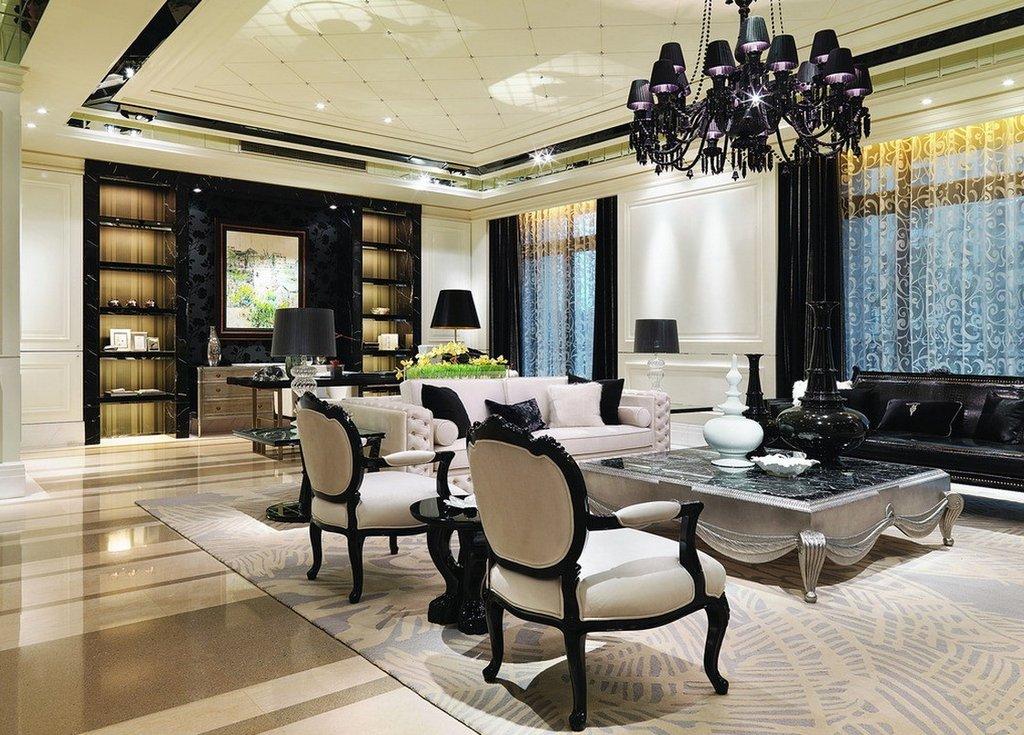 Phong cách thiết kế nội thất tân cổ điển thường hướng đến nét đẹp sang trọng, cao cấp. Ảnh sưu tầm.