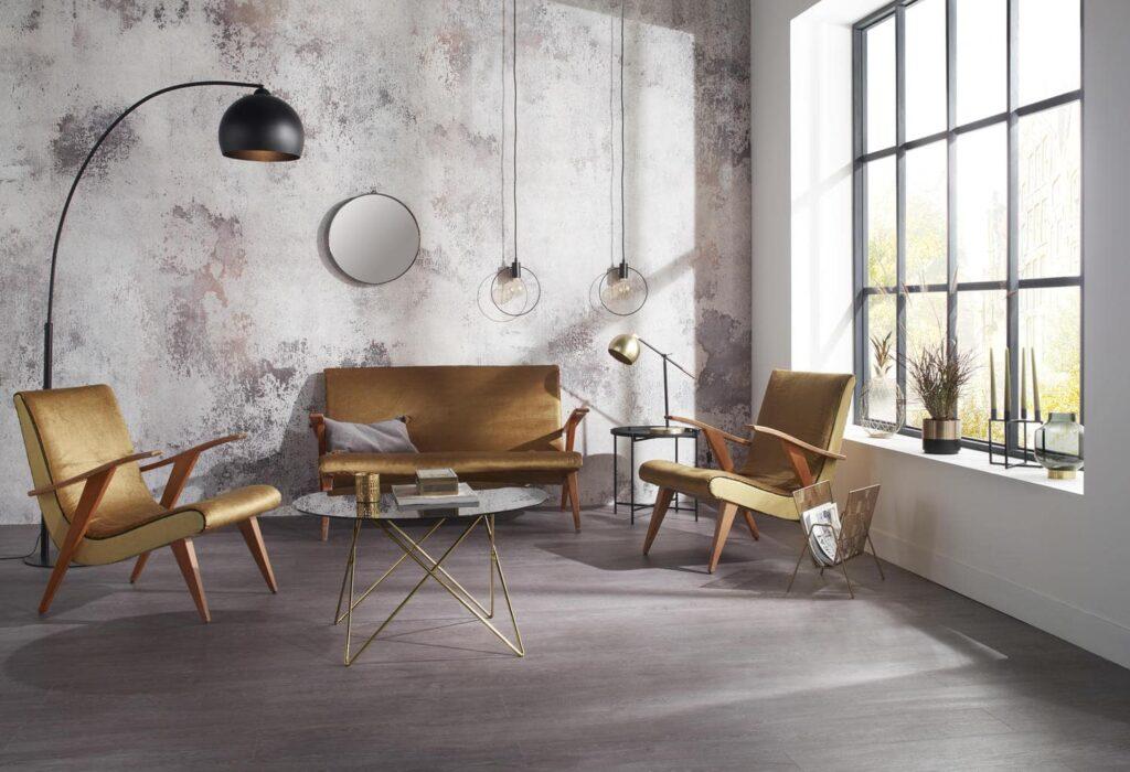 Thiết kế nội thất Châu Âu theo phong cách Vintage. Ảnh sưu tầm.