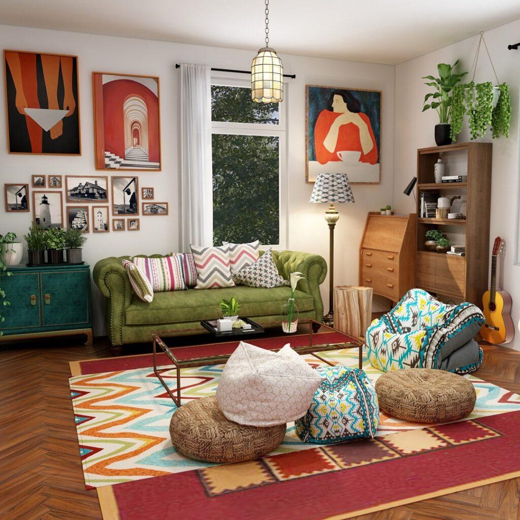 Bohemian là xu hướng đang làm mưa làm gió trên thị trường nội thất.