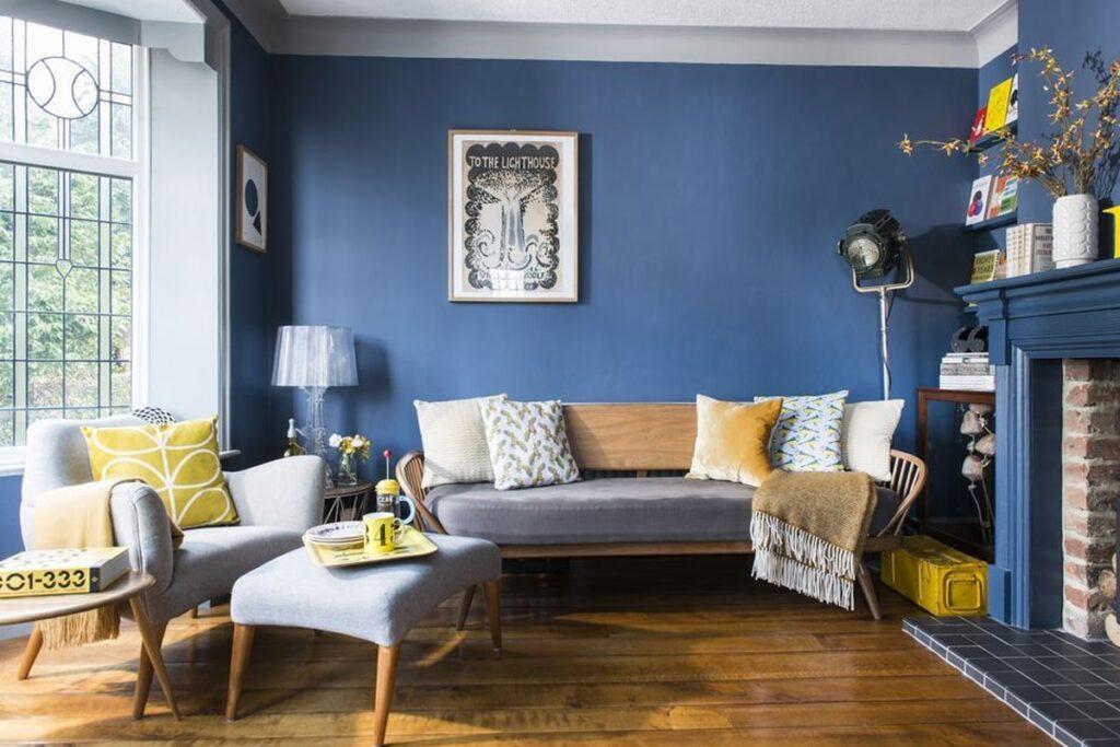 Đồ nội thất với những đường nét mềm mại đặc trưng của phong cách Retro. (Ảnh sưu tầm)