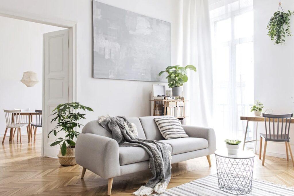 Đồ nội thất hiện đại là dấu ấn riêng của phong cách Bắc Âu. (Ảnh sưu tầm)